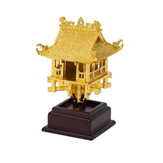 Chùa Một Cột mạ vàng 24K - CMC03