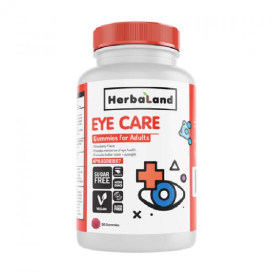 Gummies for adults eye care bổ sung dinh dưỡng và bảo vệ sức khỏe cho mắt chai 90 Viên