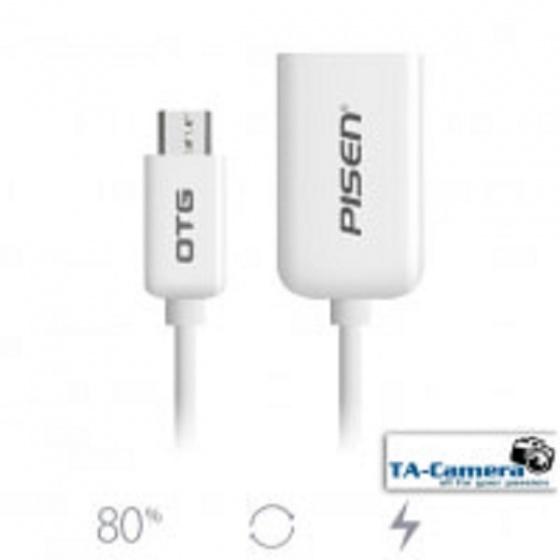 Cáp Pisen Micro USB OTG