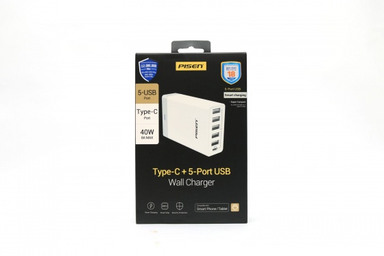 USB Wall Charger 6 cổng