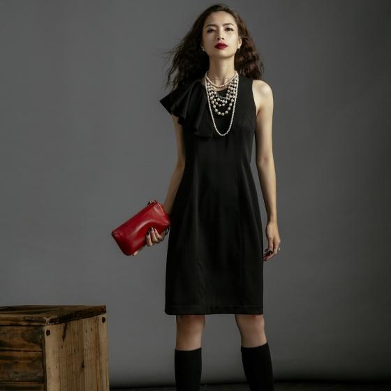 Đầm ôm thời trang thiết kế Hity DRE107 (đen huyền bí)