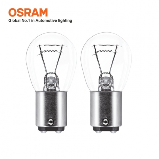 Bóng đèn sau 2 tim OSRAM ORIGINAL P21 5W 24v 21 5w (chân cao thấp)