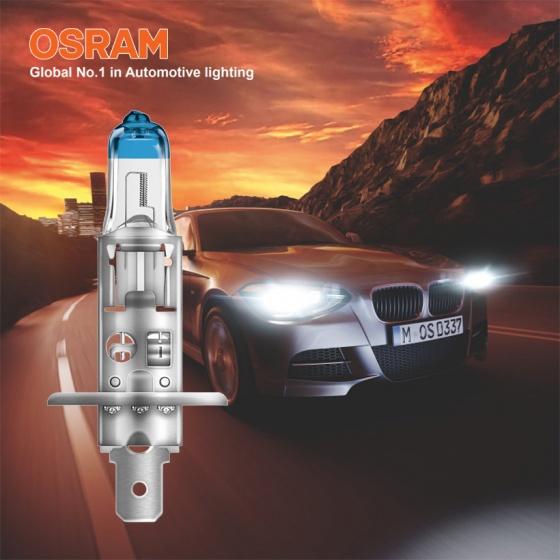 Bóng đèn halogen tăng sáng 150 OSRAM NIGHT BREAKER LASER H1 12v 55w