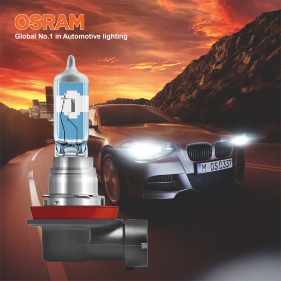 Bóng đèn halogen tăng sáng 150 OSRAM NIGHT BREAKER LASER H8 12v 35w