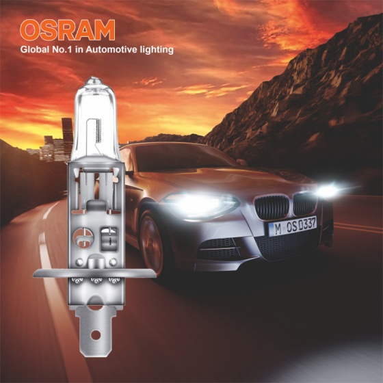 Bóng đèn halogen tăng sáng 100 OSRAM NIGHT BREAKER SILVER H4 12v 60 55w