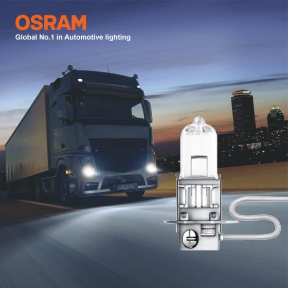 Bóng đèn halogen tăng sáng 100 OSRAM TRUCKSTAR PRO H3 24v 70w