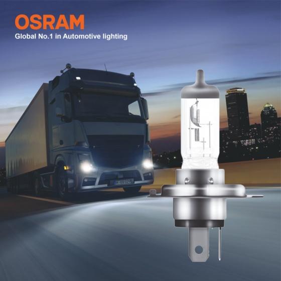 Bóng đèn halogen tăng sáng 100 OSRAM TRUCKSTAR PRO H4 24v 75 70w