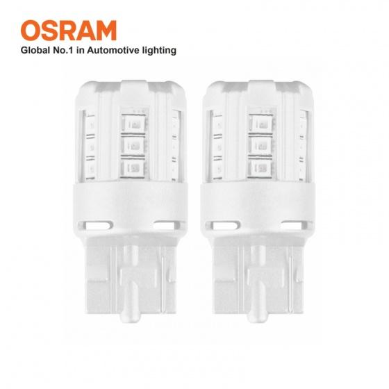 Bóng đèn led chân ghim nhỏ OSRAM STANDARD RETROFIT W21W 12v màu đỏ
