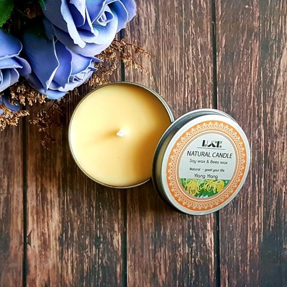 Nến thơm trang trí ECOLIFE - Aroma Candles Ylang Tin