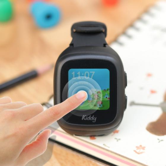 Đồng hồ thông minh định vị trẻ em Kiddy 2 Touch 2020 ( Đen)
