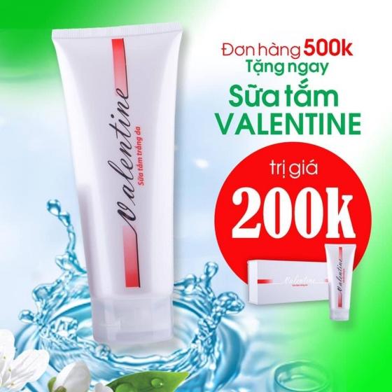 Kem trắng da chống nắng Valentine SPF 30