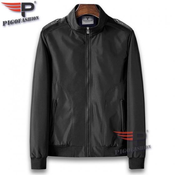 Áo khoác dù nam cổ đứng hot trend chất dù cao cấp pigofashion akd025 chọn màu