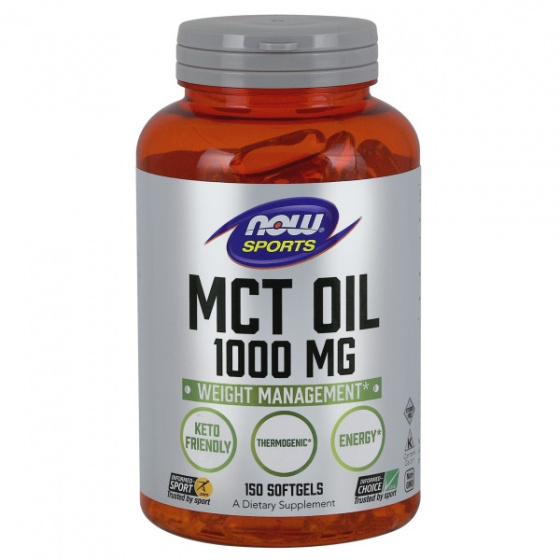 MCT Oil 1000mg - Hỗ trợ đốt cháy mỡ thừa - Giảm cân hiệu quả cho người luyện tập thể thao Chai 150 Viên