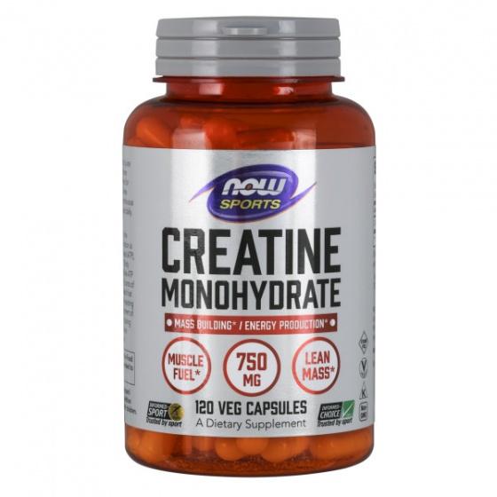 Creatine Monohydrate 750 mg - Hỗ trợ tăng cường sức mạnh trong luyện tập thể thao (120 Viên)