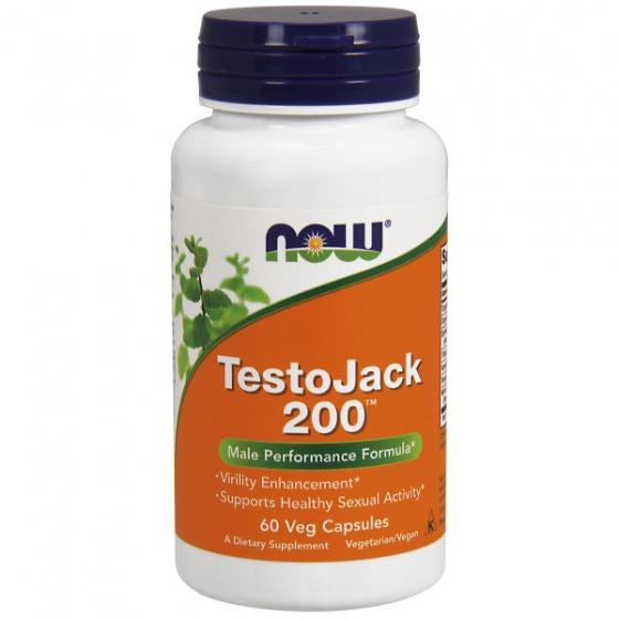 TestoJack 200™ - Giúp Tăng Cường Sinh Lực Nam Giới, hỗ trợ hoạt động sinh lý và sức khoẻ của đàn ông 60 Viên