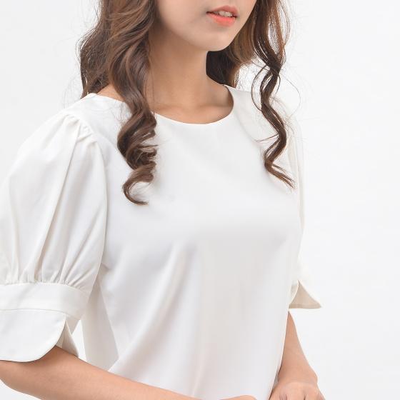 Áo kiểu nữ công sở thời trang Eden tay lửng - ASM135