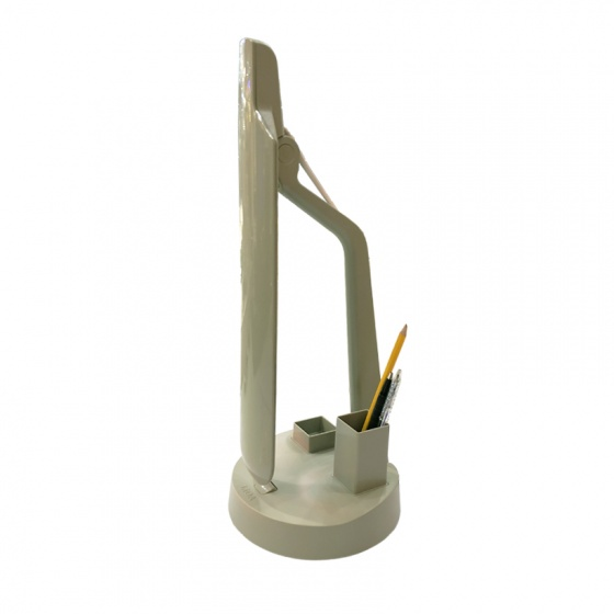 Đèn bàn Led dọc LiOA có hộp đựng bút và hộp đựng ghim
