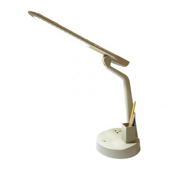 Đèn bàn Led dọc LiOA có ổ cắm đa năng và hộp đựng bút