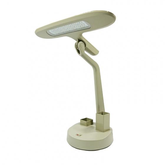 Đèn bàn Led ngang LiOA có hộp đựng bút và hộp đựng ghim
