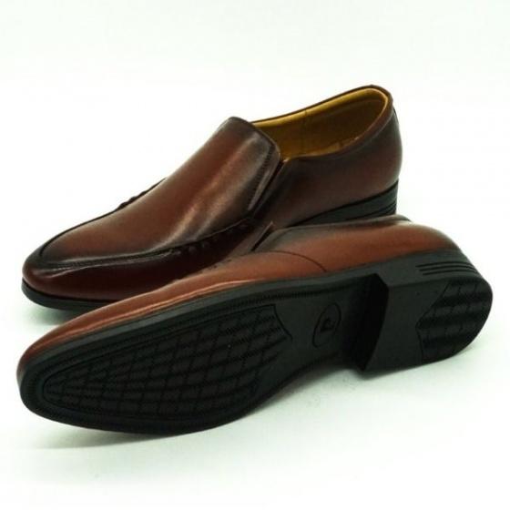 Giày da nam Pierre Cardin PCMFWLE704BRW màu nâu