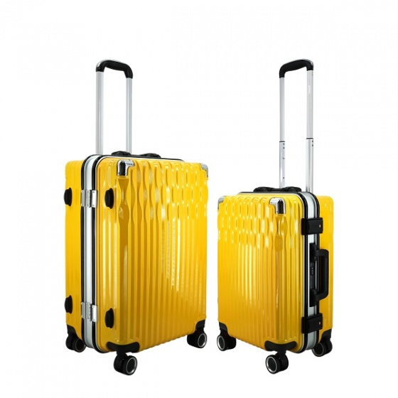 (MIỄN PHÍ SHIP) Bộ 2 vali khung nhôm IMMAX A19 size 20+24inch cao cấp