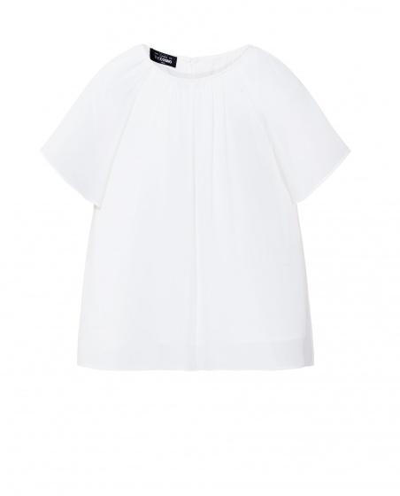 Áo kiểu nữ The Cosmo LEILA BLOUSE màu trắng TC2001107WH