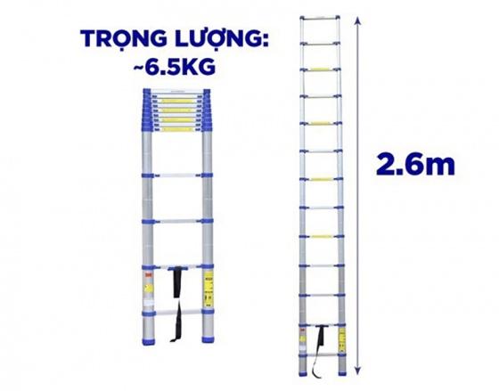 Thang nhôm rút gọn Kachi MK235 2.6M
