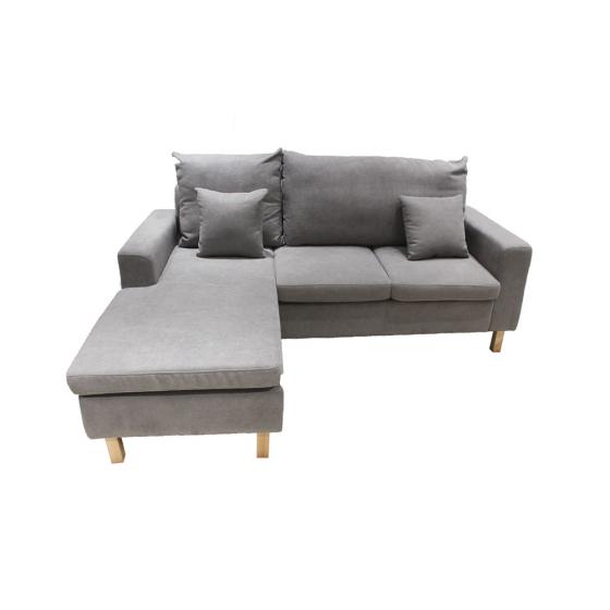 Sofa góc linh hoạt ROGAN màu xám Index Living Mall