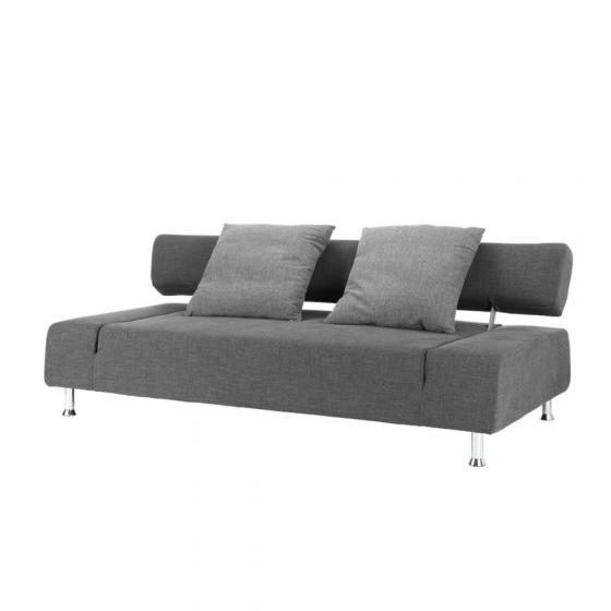 Sofa giường NAOMIP màu xám đậm Index Living Mall