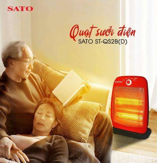 Quạt sưởi 2 bóng SATO ST-QS2B(D)