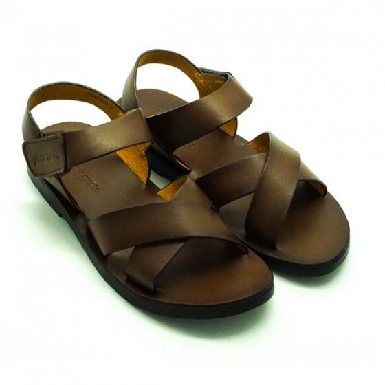 Sandal nam Pierre Cardin PCMFWLE138BRW màu nâu