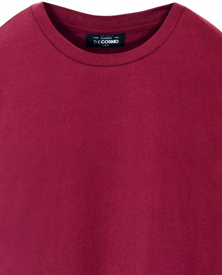 Áo thun nữ The Cosmo CRISTY TEE màu đỏ TC2002043BU