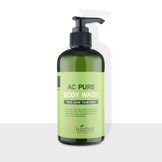 Sữa tắm thảo dược Queenie AC Pure - Mỹ phẩm Hàn Quốc HSD 03.06.2021