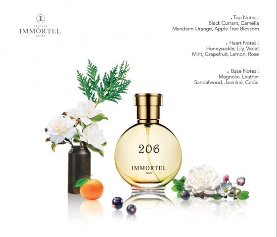 Nước hoa nữ IMMORTEL 206 Eau De Parfum 60ml