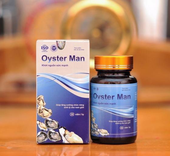 Combo 3 tinh chất hàu Oyster Man tăng cường sinh lý, cải thiện yếu sinh lý, xuất tinh sớm (1 hộp 30 viên)