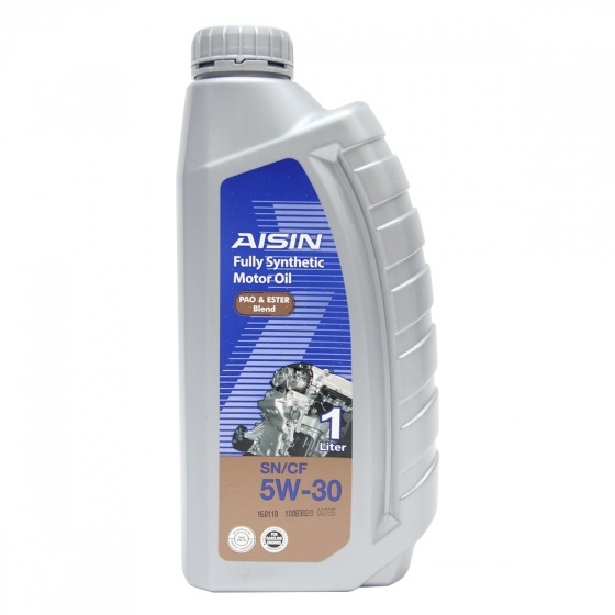 Nhớt động cơ AISIN ESEN0531P 5W-30 SN CF PAO  ESTER Blend 1L