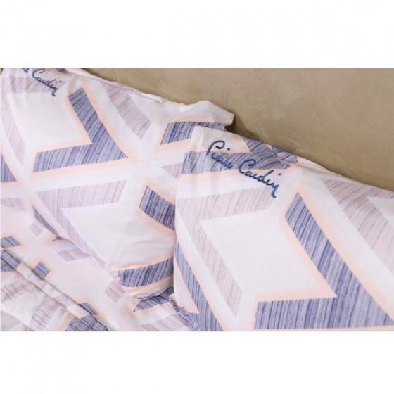 Bộ drap gối chữ V - tencel silky Pierre Cardin