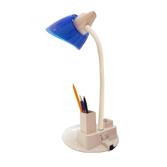 Đèn bàn khớp mềm LiOA có hộp đựng bút và hộp đựng ghim