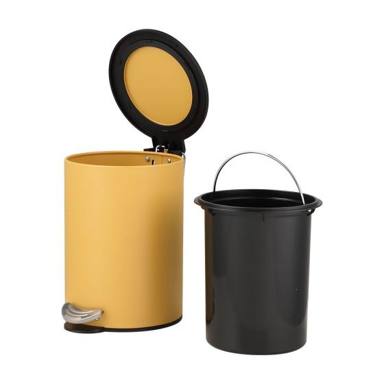 Thùng rác FIONA Màu vàng Index Living Mall