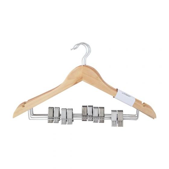 Móc treo quần áo HUSS Màu gỗ tự nhiên Index Living Mall