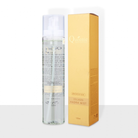 Xịt khoáng dưỡng ẩm bổ sung Collagen Queenie - Mỹ Phẩm Hàn Quốc