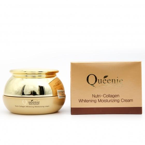 Kem dưỡng trắng da bổ sung Collagen Queenie - Mỹ Phẩm Hàn Quốc