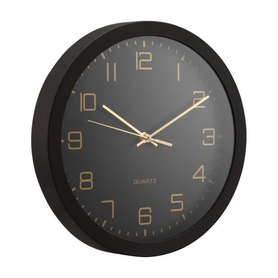 Đồng hồ treo tường DEWEY Màu đen Index Living Mall