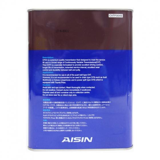 Nhớt hộp số tự động AISIN CVTF004S CFEx CVTF Multi 4L