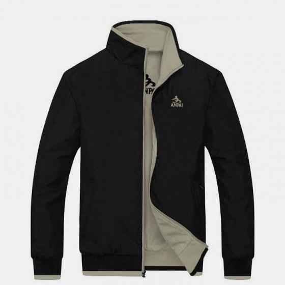 Áo khoác dù nam 2 mặt in hình AKD0138 - Model Fashion
