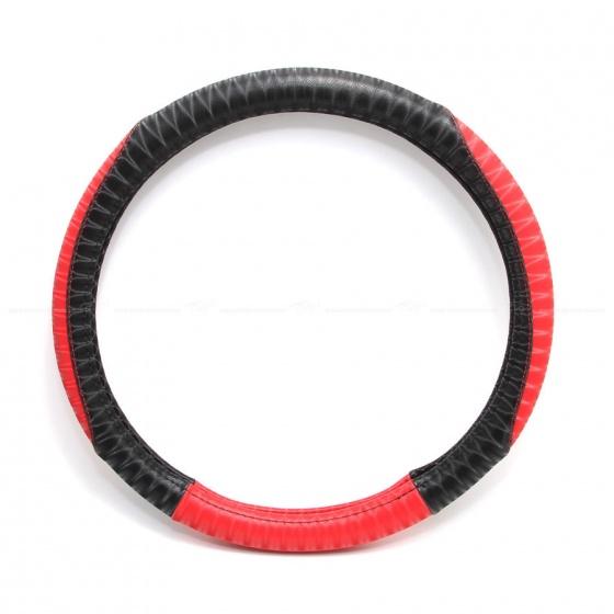 Bọc vô lăng cao cấp CIND P522 size M màu đen đỏ