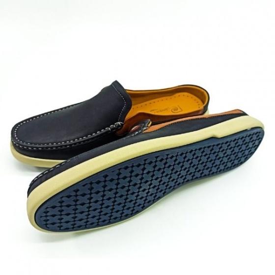 Giày nam Sapo Pierre Cardin PCMFWLE500NAY màu navy