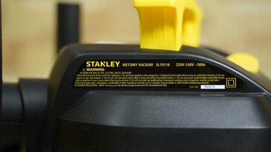 Máy hút bụi công nghiệp hút khô và ướt stanley - SL19116