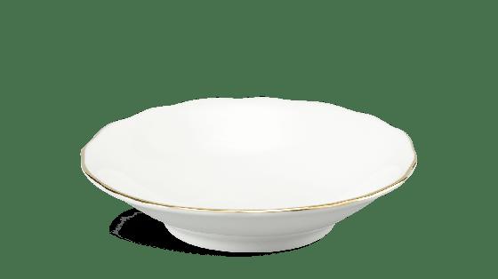 Bộ đồ ăn 14 sản phẩm - mẫu đơn IFP - chỉ vàng