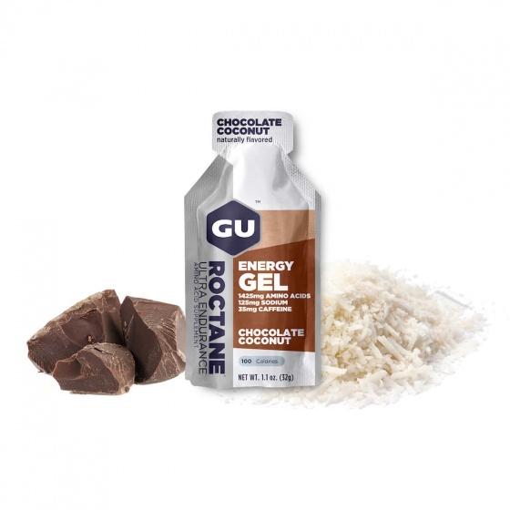 Gel uống bổ sung Gu Roctane gel hộp 24 gói vị sô cô la dừa